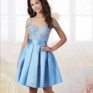 Tiffany Designs Dresses - Light blue Dana's by Tiffany Designs dress